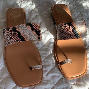 Vince Camuto Python Sandals